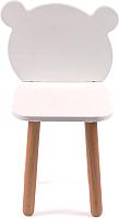 Стул детский Happy Baby Misha Chair / 91008 (белый) -