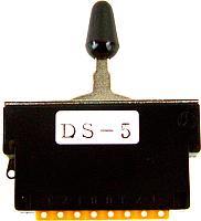 Переключатель гитарный Hosco DS-5S -