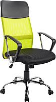 Кресло офисное Mio Tesoro Монте AF-C9767 (черный/салатовый) -