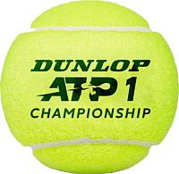 Набор теннисных мячей DUNLOP ATP Championship / 622DN601333 (4шт) -