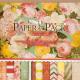 Набор бумаги для скрапбукинга БЕЛОСНЕЖКА Яркие цветы / 027-SB -