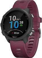 Умные часы Garmin Forerunner 245 / 010-02120-11 (черный/бордовый) -