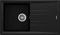 Мойка кухонная Teka Stone 50 B-TG / 115330017 (черный металлик) -