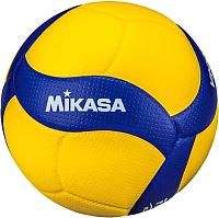 Мяч волейбольный Mikasa V200W (размер 5, желтый/синий) -