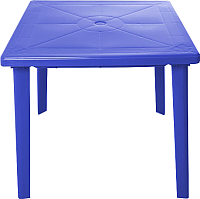 Стол пластиковый Стандарт Пластик Групп Квадратный 80х80 (синий) -