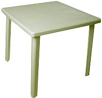 Стол пластиковый Стандарт Пластик Групп Квадратный 80х80 (болотный) -
