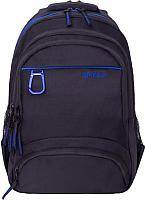 Рюкзак Grizzly RU-806-1 (черный/синий) -
