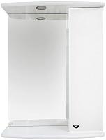 Шкаф с зеркалом для ванной Misty Астра 50 R / Э-Аст04050-01СвП -
