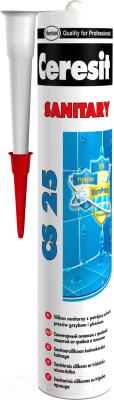Герметик силиконовый Ceresit CS 25 (280мл, стальной)
