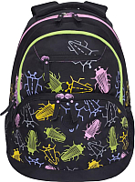 Рюкзак Grizzly RD-951-2 (черные жуки) -