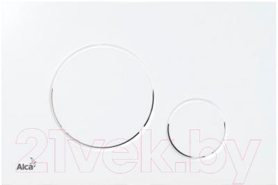 Кнопка для инсталляции Alcaplast M670 (белый)