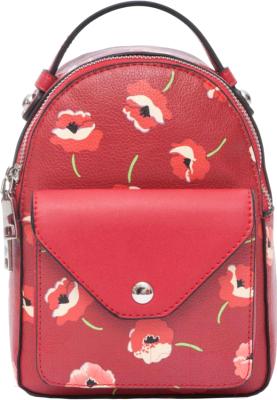 Рюкзак OrsOro DS-981 (красный с маками)