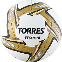 Футбольный мяч Torres Pro Mini / F31910 (белый/черный/золотой) -