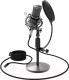 Микрофон Ritmix RDM-175 (черный) -