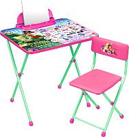 Комплект мебели с детским столом Ника Д2Ф1 Феи. Азбука -