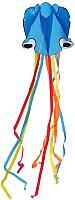 Воздушный змей Bradex Осьминог / DE 0437 (голубой) -