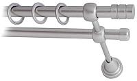 Карниз для штор Lm Decor Цилиндр 088 2р гладкий (сатин, 3.6м) -
