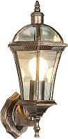 Бра уличное Elektrostandard Capella (черное золото) -