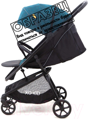 Детская прогулочная коляска Xo-kid Asmus (Green)