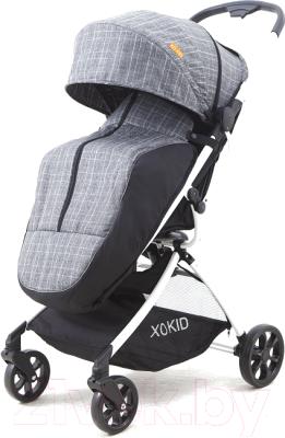 Детская прогулочная коляска Xo-kid Asmus (Grey Cell)