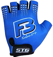 Перчатки велосипедные STG Х61886-M (синий) -