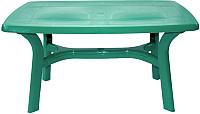 Стол пластиковый Стандарт Пластик Групп Премиум 140х85 (темно-зеленый) -