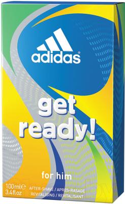 Лосьон после бритья Adidas Get Ready! Восстанавливающий для мужчин (100мл)