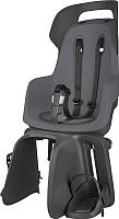 Детское велокресло Bobike Go Carrier / 8012300005 (macaron grey) -