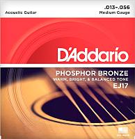 Струны для акустической гитары D'Addario EJ17 -