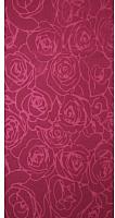 Полотенце Privilea Роза / 9с5 (70x140, бордовый) -