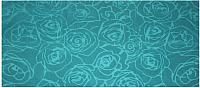 Полотенце Privilea Роза / 9с5 (70x140, бирюзовый) -