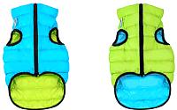 Куртка для животных AiryVest 1620 (M, салатовый/голубой) -