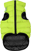 Куртка для животных AiryVest 1684 (M, салатовый/черный) -
