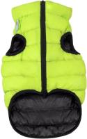 Куртка для животных AiryVest 1679 (S, салатовый/черный) -