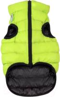 Куртка для животных AiryVest 1668 (XS, салатовый/черный) -