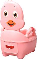 Детский горшок Pituso Цыпленок / 1713 (розовый) -