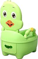 Детский горшок Pituso Цыпленок / 1713 (зеленый) -