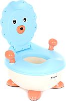 Детский горшок Pituso Львенок / FG337 (голубой) -
