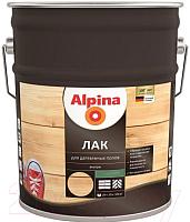 Лак Alpina Для деревянных полов (10л, шелковисто-матовый) -