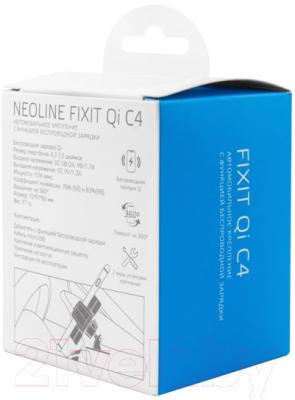 Держатель для портативных устройств NeoLine Fixit Qi C4
