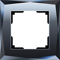 Рамка для выключателя Werkel Diamant WL08-Frame-01 / A029843 (черный) -