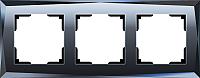 Рамка для выключателя Werkel Diamant WL08-Frame-03 / A029845 (черный) -