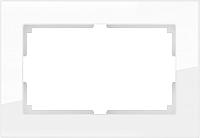 Рамка для выключателя Werkel Favorit WL01-Frame-01-DBL / a033478 (белый) -