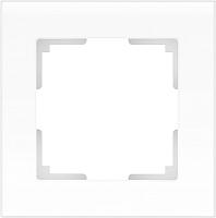 Рамка для выключателя Werkel Favorit WL01-Frame-01 / a036576 (белый, матовый) -