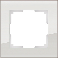 Рамка для выключателя Werkel Favorit WL01-Frame-01 / a030785 (дымчатый) -