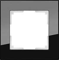 Рамка для выключателя Werkel Favorit WL01-Frame-01 / a031797 (черный) -