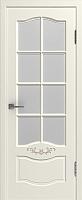 Дверь межкомнатная Юркас Прованс 2 ДО 70х200 (слоновая кость/капучино) -