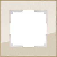Рамка для выключателя Werkel Favorit WL01-Frame-01 / a040870 (шампань) -