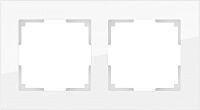 Рамка для выключателя Werkel Favorit WL01-Frame-02 / a030820 (белый) -