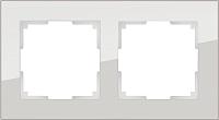 Рамка для выключателя Werkel Favorit WL01-Frame-02 / a030786 (дымчатый) -